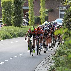 01-09-2018: Wielrennen: Ladies Tour: Sittard<br />Peloton op de Snijdersberg olv Annemiek van Vleuten