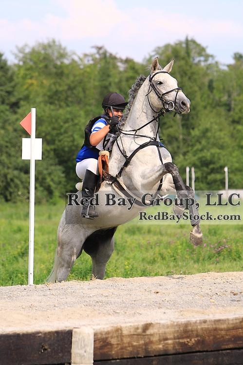 Lindsay Beer and Kat Mon Dieu at Grandview Horse Trials held August 1 - 2, 2009 in Hawkestone, Ontario.