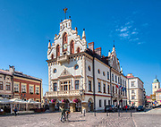 Rzeszów (woj. podkarpackie) 2018-10-11. Rynek w Rzeszowie