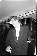 Stephen Constable-Maxwell, Actin Ball Savoy, 10.04.86© Copyright Photograph by Dafydd Jones 66 Stockwell Park Rd. London SW9 0DA Tel 020 7733 0108 www.dafjones.com