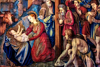"""Adoration of the Shepherds - Vatican Museums - Gallery of the Tapestries""…<br />
