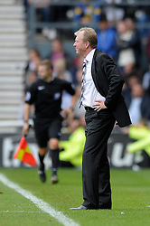 Derby County Manager, Steve McClaren - Photo mandatory by-line: Dougie Allward/JMP - Mobile: 07966 386802 30/08/2014 - SPORT - FOOTBALL - Derby - iPro Stadium - Derby County v Ipswich Town - Sky Bet Championship