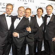 NLD/Amsterdam/20151028 - Premiere James Bondfilm Spectre, oa Frits Huffnagel