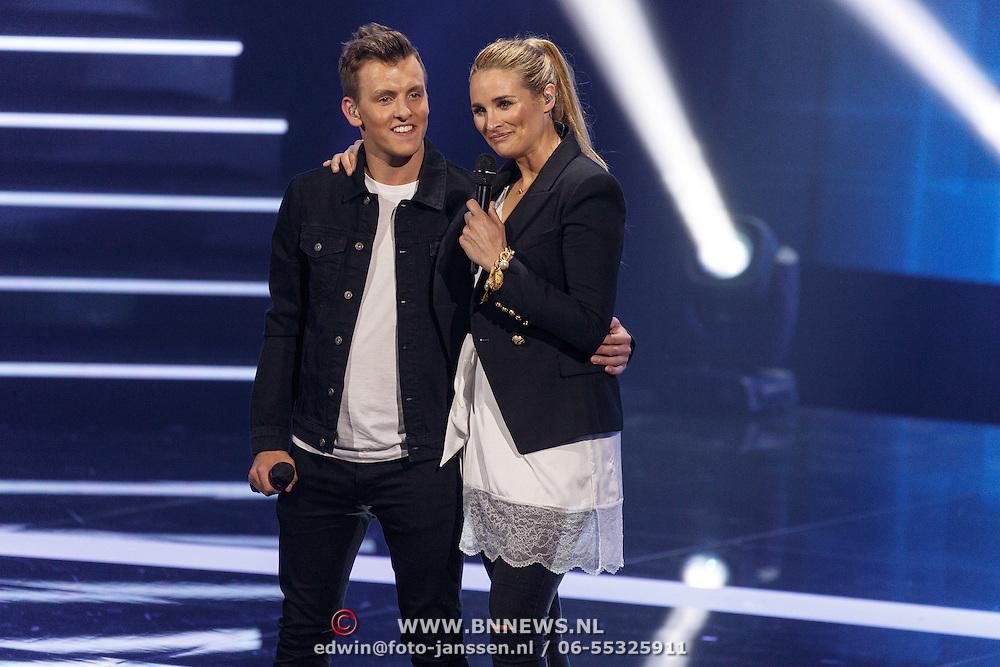 NLD/Amsterdam20160518 - 1e Liveshow Idols 5 2016, Lieke Van Lexmond en Thijs Roseboom