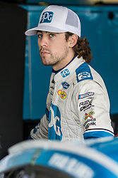 October 5, 2018 - Dover, DE, U.S. - DOVER, DE - OCTOBER 05: Ryan Blaney driver of the #12 PPG Ford waits for Friday's practice to start for the Monster Energy NASCAR Cup Series Gander Outdoors 400 on October 05, 2018, at Dover International Speedway in Dover, DE. (Photo by David Hahn/Icon Sportswire) (Credit Image: © David Hahn/Icon SMI via ZUMA Press)
