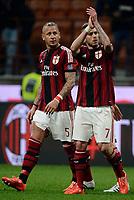 Philippe Mexes, Jeremy Menez Milan<br /> Milano 21-03-2015 Stadio Giuseppe Meazza - Football Calcio Serie A Milan - Cagliari. Foto Giuseppe Celeste / Insidefoto