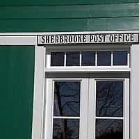 North America, Canada, Nova Scotia, Sherbrooke. Sherbrooke Post Office in Guysborough.