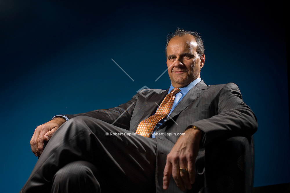 Former Yankees general manager Joe Torre during a Samsung Four Season of Hope Doner Appreciation event held at the Samsung Store in New York, Nov. 14, 2007.