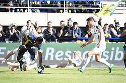 RUGBY - CHAMPIONS CUP - 2017<br /> nakaitaci (noa)<br /> Clermont / Exeter le 21/01/2017<br /> Photo : Pierre Lahalle