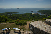 Camden Maine - Maiden Cliff  - Mount Battie - Camden Harbor