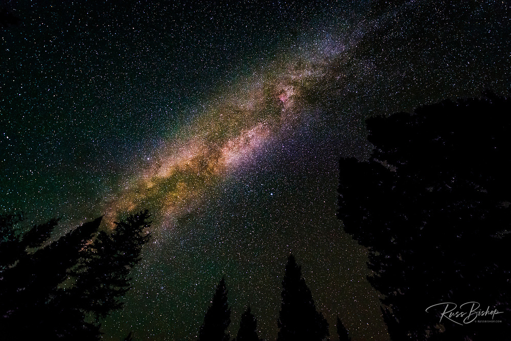 The Milky Way over Lizard Head Pass, Uncompahgre National Forest, Colorado USA