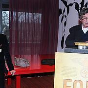 NLD/Amsterdam/20140220 - Boekpresentatie Fout Geld in De Nederlandse Bank, Roel Janssen en Thomas Ross