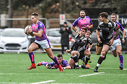 Pontypridd's Cameron Lewis in action during todays match - Mandatory by-line: Craig Thomas/Replay images - 30/12/2017 - RUGBY - Sardis Road - Pontypridd, Wales - Pontypridd v Bedwas - Principality Premiership