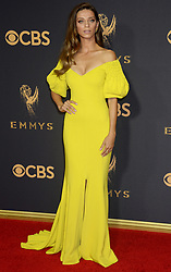 69th Annual Primetime Emmy Awards at Microsoft Theater on September 17, 2017 in Los Angeles, California. 17 Sep 2017 Pictured: Angela Sarafyan. Photo credit: MEGA TheMegaAgency.com +1 888 505 6342