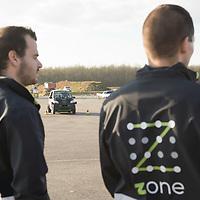 Zala Zone autonomous car test track construction 2018