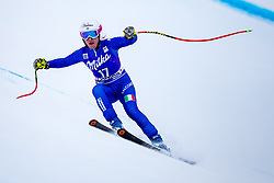 17.01.2018, Olympia delle Tofane, Cortina d Ampezzo, ITA, FIS Weltcup Ski Alpin, Abfahrt, Damen, 1. Training, im Bild Nadia Fanchini (ITA) // Nadia Fanchini of Italy in action during the 1st practice run of ladie' s downhill of the Cortina FIS Ski Alpine World Cup at the Olympia delle Tofane course in Cortina d Ampezzo, Italy on 2015/01/17. EXPA Pictures © 2018, PhotoCredit: EXPA/ Dominik Angerer