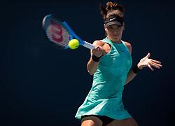 March 22, 2019 - Miami, FLORIDA, USA - Ajla Tomljanovic of Australia in action during the second-round at the 2019 Miami Open WTA Premier Mandatory tennis tournament (Credit Image: © AFP7 via ZUMA Wire)