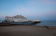 Limited Editions of 8<br /> Eastbourne Pier along the south coast of England at dusk during an extra long exposure