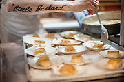 Coquilles ST. Jacques is prepared during Feast PDX at Paley's Place