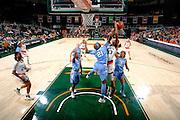 2017 Miami Hurricanes Women's Basketball vs North Carolina