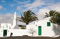 Espagne. Iles Canaries. Lanzarote. San Bartolome. Maison musee du Campesino (Casa museo del Campesino). // Spain. Canary islands. San Bartolome. Lanzarote. House museum Campesino.