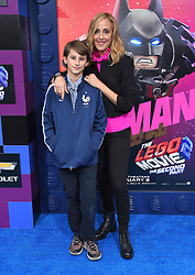 'The LEGO Movie 2: The Second Part' World Premiere at Village Theatre on February 2, 2019 in Westwood, CA. © O'Connor/AFF-USA.com. 02 Feb 2019 Pictured: Kim Raver and Leo Kipling Boyer. Photo credit: O'Connor/AFF-USA.com / MEGA TheMegaAgency.com +1 888 505 6342