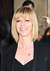 © under license to London News Pictures. 08/03/11.Kate Garraway Red carpet arrivals for the 2011 TRIC (The Television & Radio Industries Club) Awards at Grosvenor House Hotel  London . Photo credit should read ALAN ROXBOROUGH/LNP