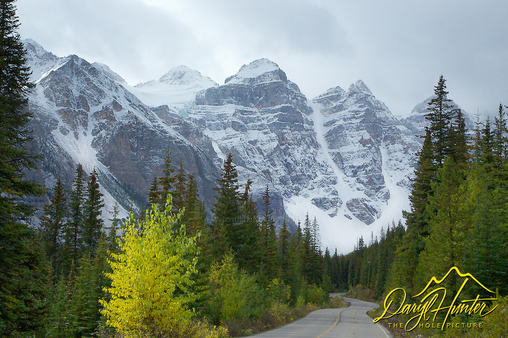 Valley of the Ten Peaks, Autumn Color, Banff National Park