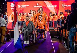02-01-2018 NED: PloegpresentatieTeamNL, Arnhem<br /> Chef de mission Esther Vergeer tijdens de teamoverdracht van Paralympic TeamNL voor de Paralympische Spelen van Pyeongchang.
