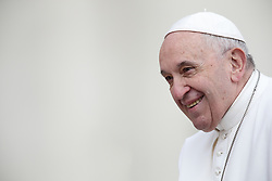 March 27,  2019  - Vatican City, Holy See- POPE FRANCIS during the wednesday General Audience in St. Peter's Square at the Vatican.  Credit Image: ©Evandro Inetti via ZUMA Wire) (Credit Image: © Evandro Inetti/ZUMA Wire)