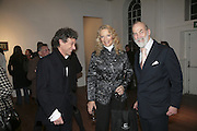 Prince Adam Zamoyski, Prince and Princess Michael of Kent, Misadventure In the Middle East. Travels As a Tramp, Artist and Spy by Henry Hemming. Book launch and exhibition. Paradise Row. London. E2.  -DO NOT ARCHIVE-© Copyright Photograph by Dafydd Jones. 248 Clapham Rd. London SW9 0PZ. Tel 0207 820 0771. www.dafjones.com.
