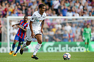 Kyle Naughton of Swansea city in action. <br /> Premier League match, Crystal Palace v Swansea city at Selhurst Park in London on Saturday 26th August 2017.<br /> pic by Kieran Clarke, Andrew Orchard sports photography.