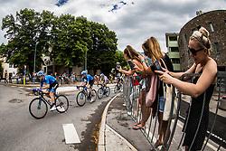 Nikolai Cherkasov (RUS) of Gazprom - Rusvelo during 4th Stage of 26th Tour of Slovenia 2019 cycling race between Nova Gorica and Ajdovscina (153,9 km), on June 22, 2019 in Slovenia. Photo by Vid Ponikvar / Sportida
