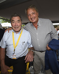 July 21, 2017 - Embrun / Salon-De-Provence, France - SALON-DE-PROVENCE, FRANCE - JULY 21 : Eddy Merckx & Herman Van Holsbeeck  during stage 19 of the 104th edition of the 2017 Tour de France cycling race, a stage of 222.5 kms between Embrun and Salon-De-Provence on July 21, 2017 in Salon-De-Provence, France, 21/07/17 (Credit Image: © Panoramic via ZUMA Press)