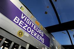 Visitors turnstiles outside the Vanden Stockstadion  - Photo mandatory by-line: Dougie Allward/JMP - Mobile: 07966 386802 - 22/10/2014 - SPORT - Football - Anderlecht - Constant Vanden Stockstadion - R.S.C. Anderlecht v Arsenal - UEFA Champions League - Group D