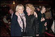 JENNIFER SAUNDERS; NAOMI DONNE, Once Gala night raising funds for Oxfam's Mother Appeal. Phoenix Theatre. Charing Cross Rd. . London. 17 March 2014.