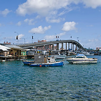 SYDNEY POITIER BRIDGE - -TRAVEL STOCK PHOTOS OF THE BAHAMAS