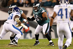 Philadelphia Eagles center Nick Cole #59 during the NFL Game between the Indianapolis Colts and the Philadelphia Eagles. The Eagles won 26-24 at Lincoln Financial Field in Philadelphia, Pennsylvania on Sunday November 7th 2010. (Photo By Brian Garfinkel)
