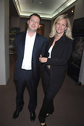 MATTHEW FREUD and his wife ELISABETH MURDOCH at the Lighthouse Gala Auction in aid of the Terence Higgins Trust held at Christie's, St.James's, London on 12th March 2007.<br /><br />NON EXCLUSIVE - WORLD RIGHTS