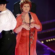 NLD/Hilversum/20070316 - 1e Live uitzending SBS So You Wannabe a Popstar, Nelleke van der Krogt optreden