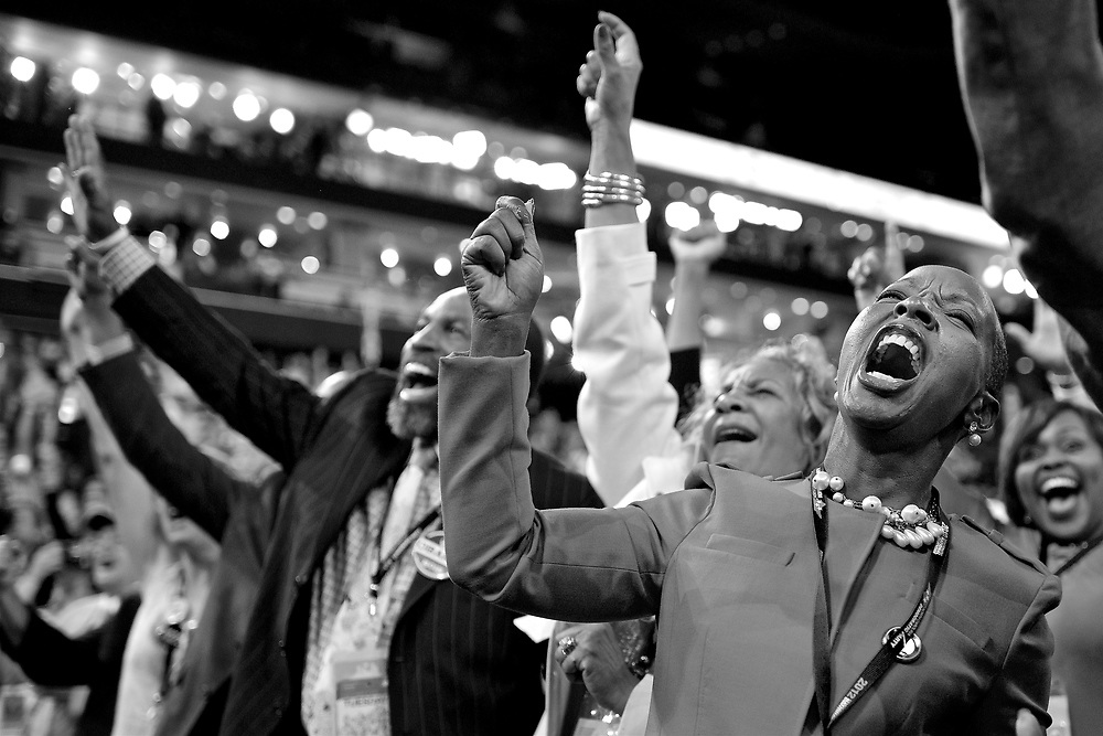 The 2012 Democratic National Convention, in which delegates of the Democratic Party will choose the party's nominees for President and Vice President in the 2012 United States national election, is scheduled to be held during the week of September 3, 2012[5][6] in Charlotte, North Carolina.<br />On April 3, 2012, President Barack Obama won the Maryland and District of Columbia primaries, giving him more than the required 2,778 delegates to secure the presidential nomination.[7] He had previously announced that Vice President Joe Biden would be his vice presidential running mate in his re-election bid.[8]<br /><br />The first two days of the convention will be held at the Time Warner Cable Arena. The last night, September 6, will be held at Bank of America Stadium, where presumptive presidential nominee Barack Obama is expected to deliver his acceptance speech.[2] The date also caused the National Football League to move the Kickoff game, normally on a Thursday, to Wednesday, September 5, to avoid a conflict.[17] This in turn caused the DNC to move Joe Biden's vice presidential acceptance speech, normally held the day before the presidential acceptance speech, to Thursday, before Obama's speech, to avoid a conflict with the NFL game.[18]<br />[edit]<br />Tuesday, September 4 - Julián Castro and Michelle Obama<br />The speakers for the day include:<br />Barbara Lee, Representative for California's 9th congressional district<br />Claudia Kennedy, Lieutenant General (ret.)<br />Cory Booker, Mayor of Newark, New Jersey<br />Bev Perdue, Governor of North Carolina<br />Mary Kay Henry, President of the Service Employees International Union<br />Charlie Gonzalez, Representative for Texas' 20th congressional district<br />Nydia Velazquez, Representative for New York's 12th congressional district<br />Pat Quinn, Governor of Illinois<br />Doug Stern, Firefighter from Cincinnati, Ohio<br />Tim Kaine, Former Governor of Virginia and U.S. Senate Candidate<br />Anthony Foxx, Mayor 