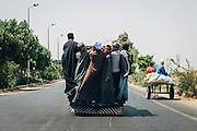 Transportation in Balana, near Kom Umbo