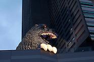 Godzilla mania in Tokyo July 2016