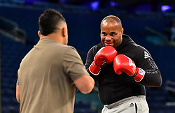 Daniel Cormier during UFC 230 Open Workouts at Madison Square Garden.