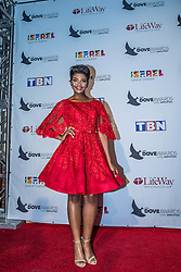 October 11, 2016 - Nashville, Tennessee, USA - Jasmine Murray at the 47th Annual GMA Dove Awards  in Nashville, TN at Allen Arena on the campus of Lipscomb University.  The GMA Dove Awards is an awards show produced by the Gospel Music Association. (Credit Image: © Jason Walle via ZUMA Wire)
