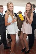 ROSIE CRAMPIN; BETH CARNEGIE, Ladies Day, Glorious Goodwood. Goodwood. August 2, 2012