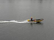 Portland, Ore., commute on the Willamette River on Saturday, Oct. 3, 2009.