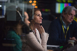 RELEASE DATE: May 13, 2016.TITLE: Money Monster.STUDIO: TriStar Pictures.DIRECTOR: Jodie Foster.PLOT: Financial TV host Lee Gates and his producer Patty are put in an extreme situation when an irate investor takes over their studio.PICTURED: Julia Roberts as Patty Fenn.(Credit: © TriStar Pictures/Entertainment Pictures/ZUMAPRESS.com)