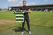 Charlie Cooper signing for Forest Green Rovers. Signing at the New Lawn, Forest Green, United Kingdom on 15 June 2017. Photo by Shane Healey.