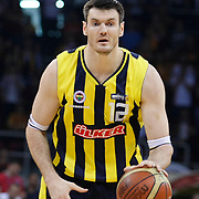 Fenerbahce Ulker's Darjus LAVRINOVIC during their Turkish Basketball league Play Off Final Sixth leg match Galatasaray between Fenerbahce Ulker at the Abdi Ipekci Arena in Istanbul Turkey on Friday 17 June 2011. Photo by TURKPIX